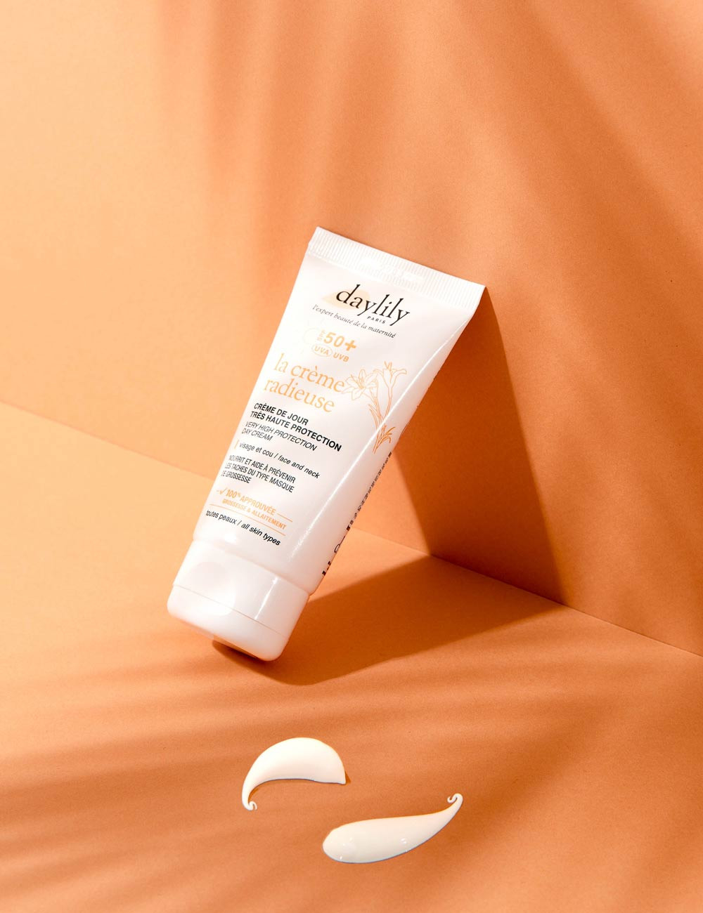 "High-SPF Day Cream - ""La Crème Radieuse"""