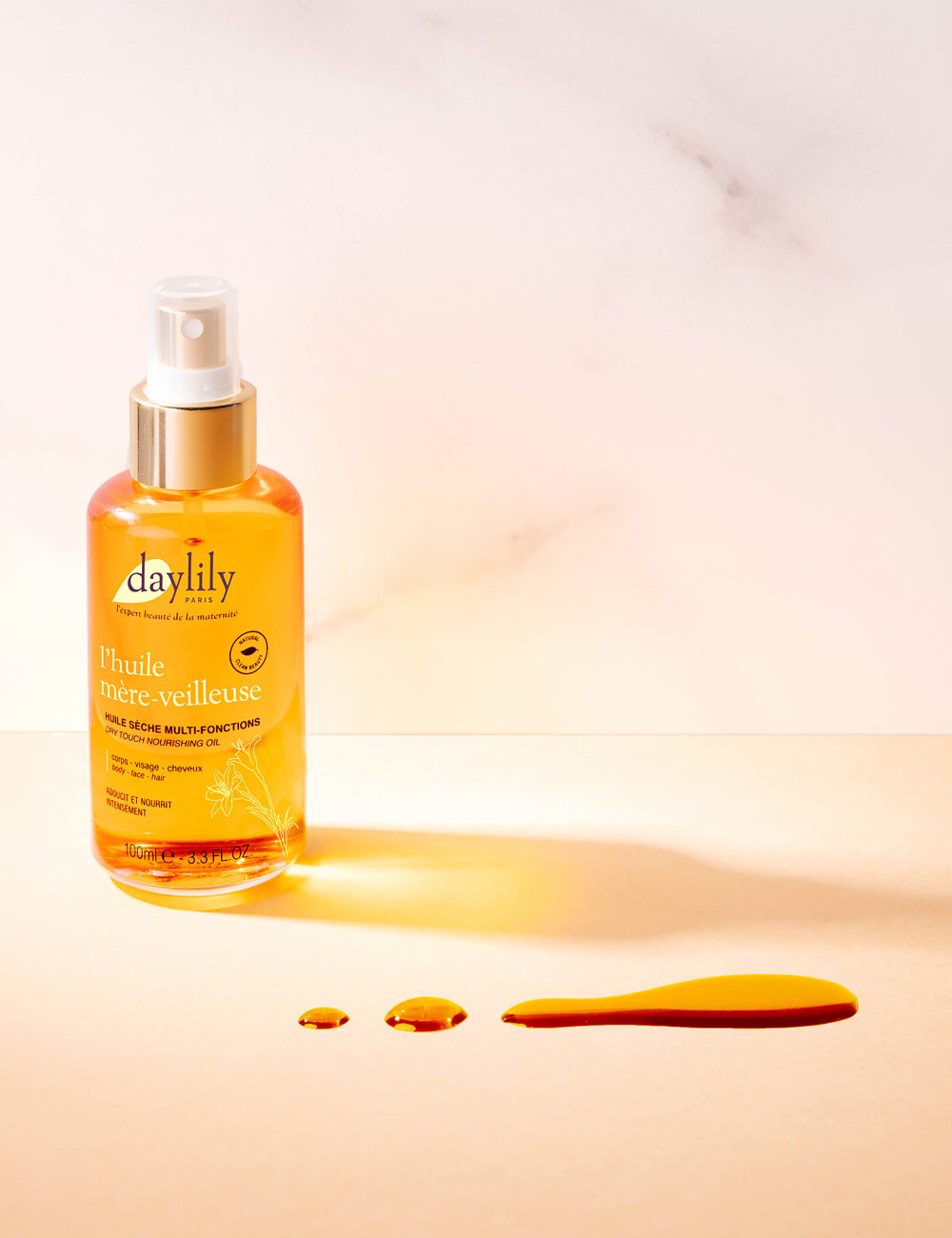 Dry-touch Nourishing Oil - L'Huile Mère-Veilleuse